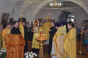 Божественная литургия. Шадринск. 28.07.2015 г.