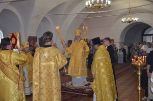 Божественная литургия. Шадринск. 26.07.2015 г.