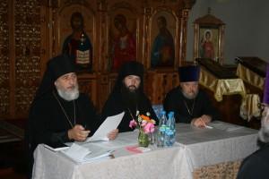 Глава Шадринской епархии епископ Владимир возглавил первое епархиальное собрание духовенства новообразованной епархии