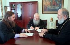 Епископ Шадринский и Далматовский Владимир принял участие в первом заседании Архиерейского совета Курганской Митрополии