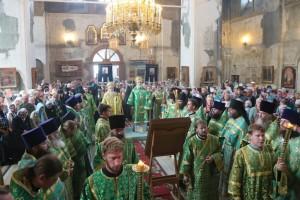 Глава Шадринской епархии епископ Владимир принял участие в праздновании дня обретения святых мощей преподобного Далмата Исетского