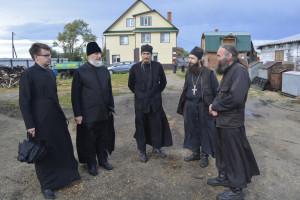 Епископ Владимир  совершил рабочий визит в Далматовский Свято-Успенский мужской монастырь г. Далматово