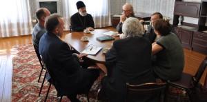 Глава Шадринской епархии Епископ Шадринский и Далматовский Владимир провел встречу с представителями Ассамблеи народов Зауралья