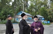 Епископ Шадринский и Далматовский Владимир посетил Воскресенский приход города Шадринска