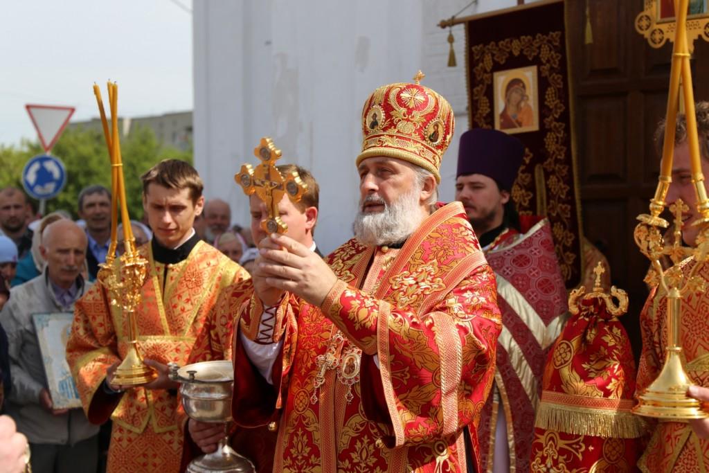 Божественная Литургия. Шадринск. 22.05.2016 г.