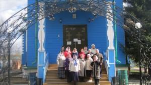 Паломнический отдел Шадринской епархии организовал для группы воцерковляющихся  людей паломническую поездку в Казанский Чимеевский мужской монастырь.