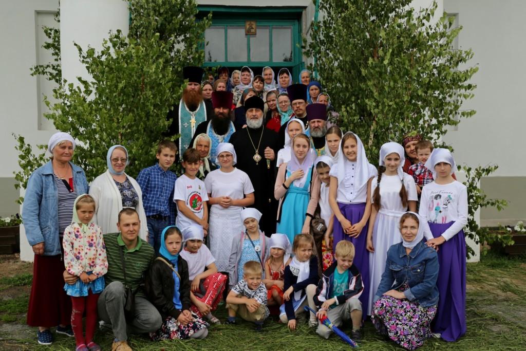 Божественная Литургия. село Усть-Миасское. 24.06.2016 г.
