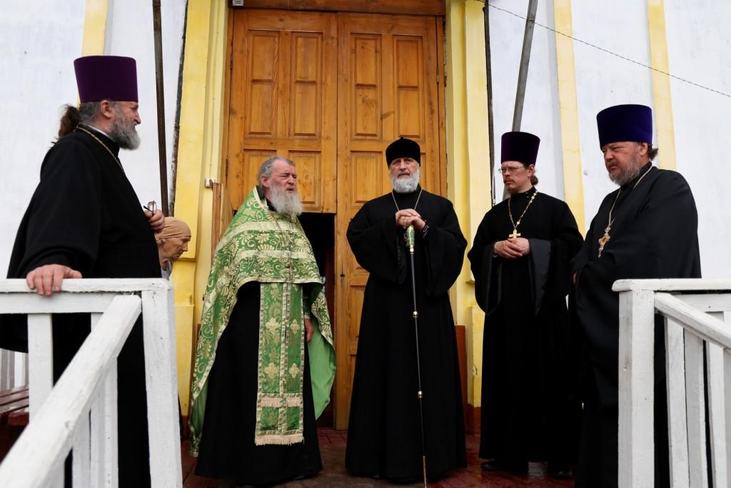 Епископ Шадринский и Далматовский Владимир посетил Покровский храм р.п. Каргаполье. 24.06.2016 г.