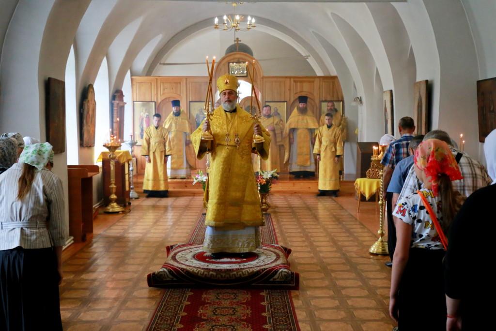 Божественная Литургия. г. Шадринск. 30.07.2017 г.