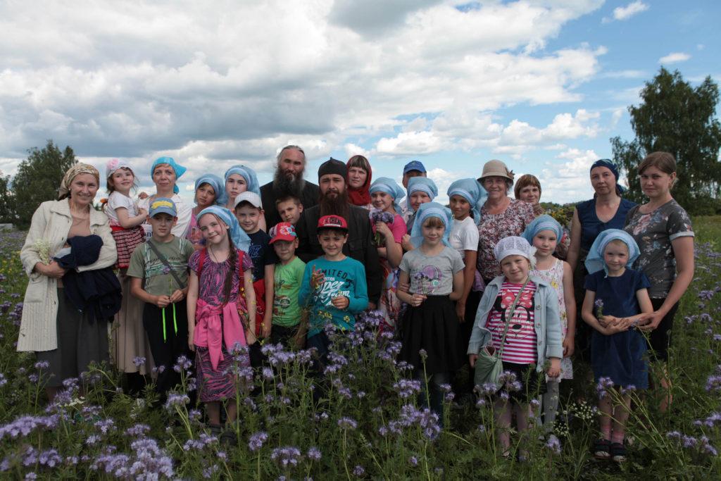В нынешнем году была организована летняя площадка для отдыха и занятий воспитанников воскресной школы Далматовского монастыря.