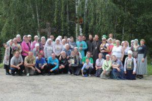 Состоялся крестный ход из с. Ключи в Далматовский Успенский мужской монастырь