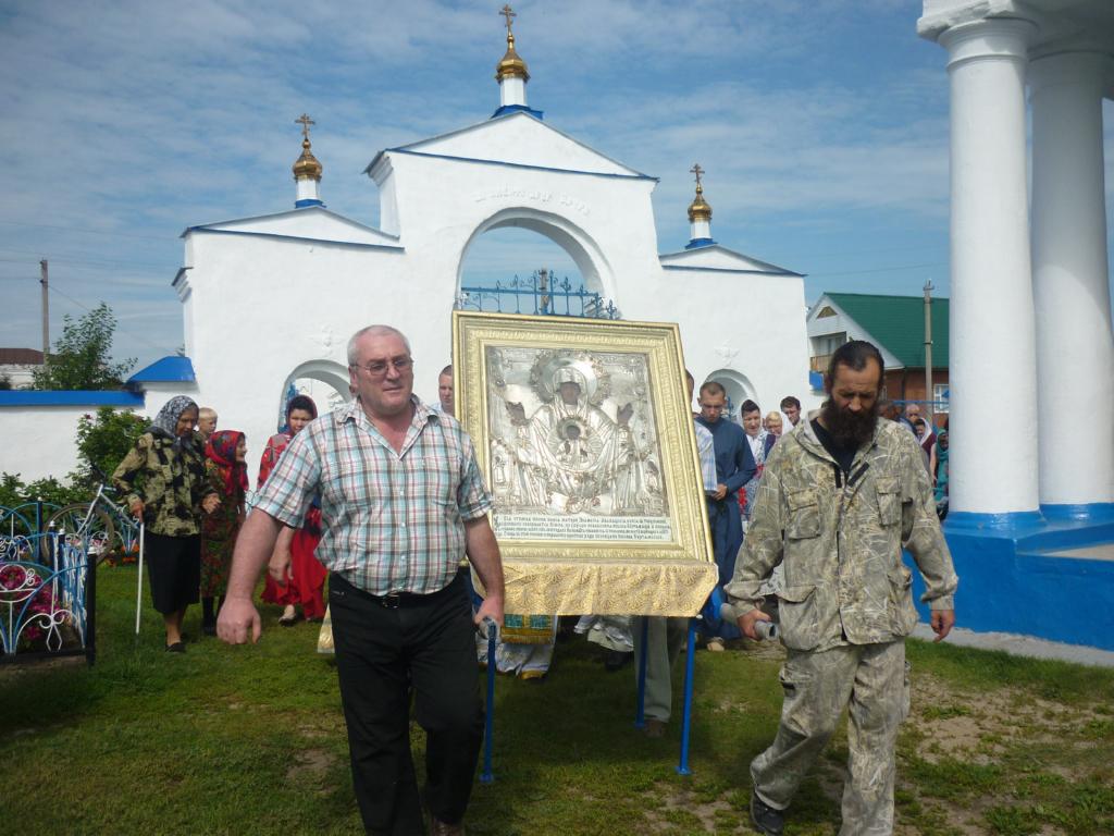 В г. Куртамыше прошли торжества в честь праздненства Абалакской иконы Божией Матери.