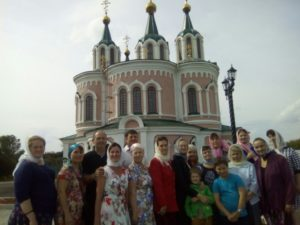 Паломническая группа из Шадринска посетила Далматовский Успенский мужской монастырь в престольный праздник – Успение Пресвятой Богородицы