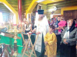Молебен на начало учения отроков отслужен в храме в честь Покрова Пресвтятой Богородицы с. Песчано-Коледино
