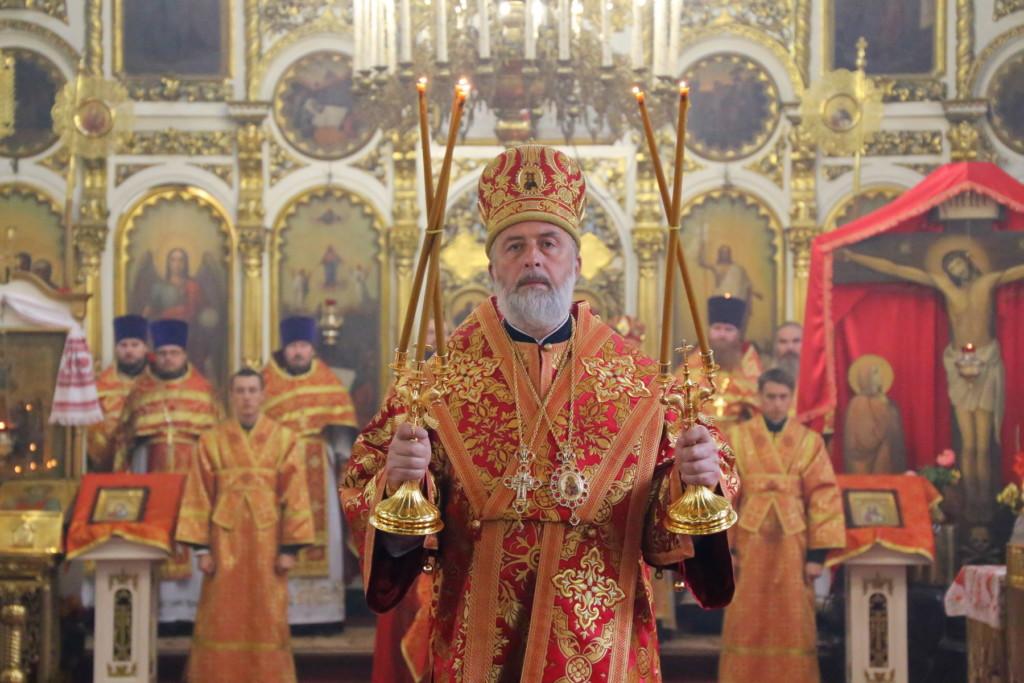 Божественная литургия. Шадринск. 26.09.2017 г.