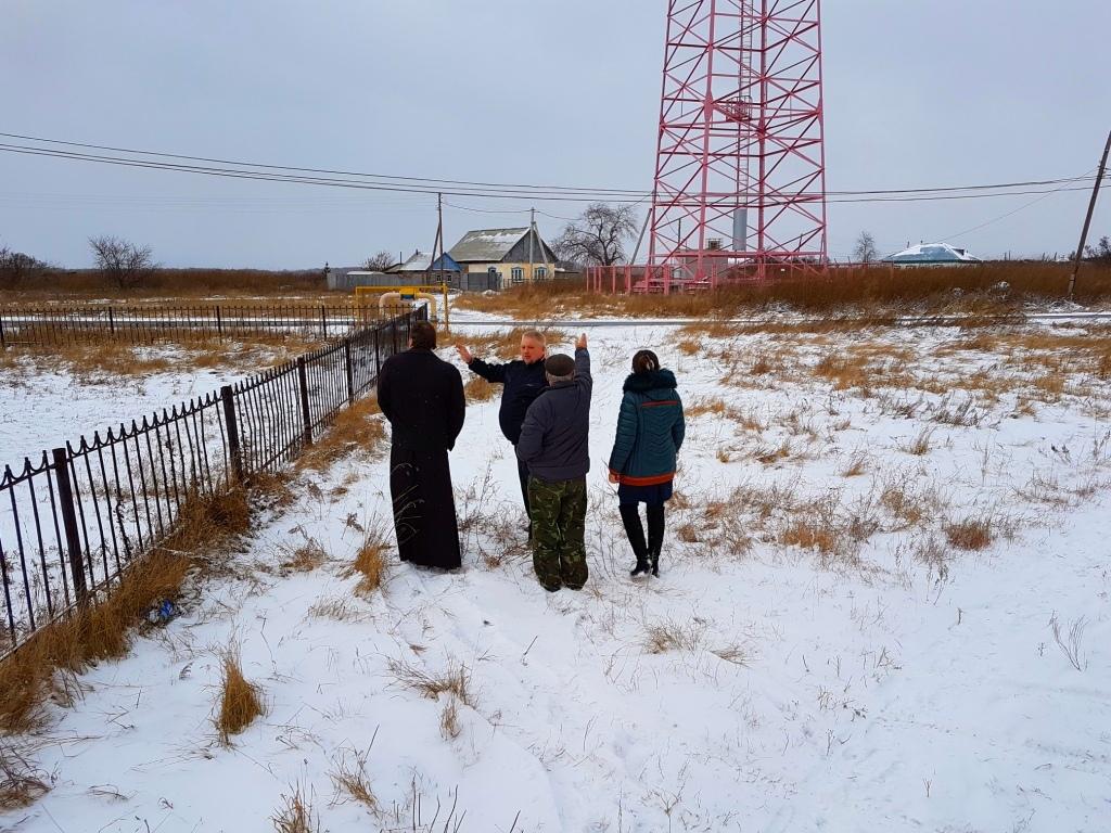 23 октября 2017 года благочинный Шумихинского церковного округа протоиерей Алексей Новоселов посетил село Птичье Шумихинского района