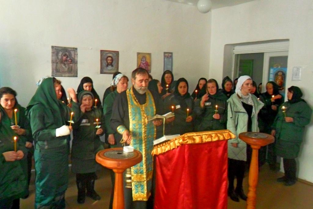 3 ноября 2017 года руководитель Отдела по тюремному служению Шадринской епархии протоиерей Сергий Тельманов посетил Юргамышскую женскую колонию