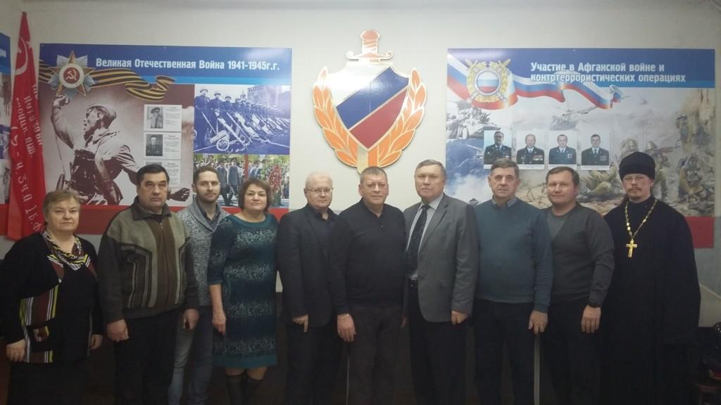Секретарь Шадринской епархии иерей Константин Стерхов  принял участие в заседании Общественного совета  при ОМВД России по городу Шадринску.