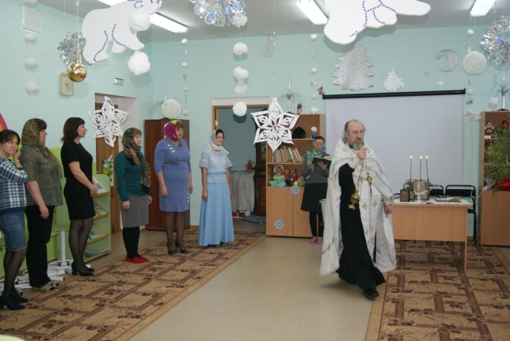 Открытие первой православной комнаты в г. Шадринске в детском саду № 10 «Умка».