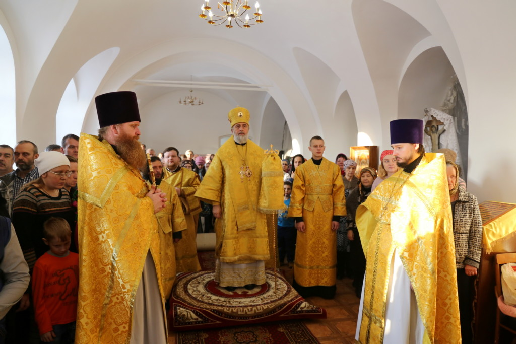 Божественная Литургия. Шадринск. 10.12.2017 г.