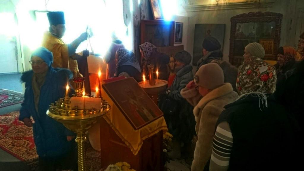 Праздник святителя Николая накануне  360–летия прихода Никольского храма  г. Далматово.