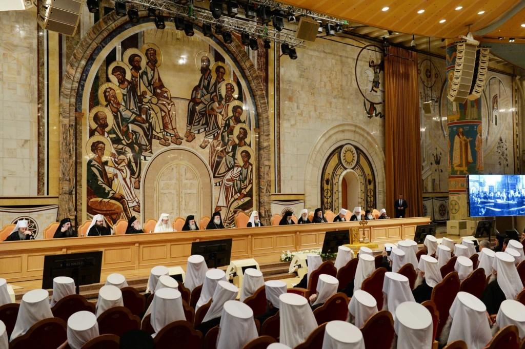 Состоялось торжественное заключительное заседание Освященного Архиерейского Собора Русской Православной Церкви