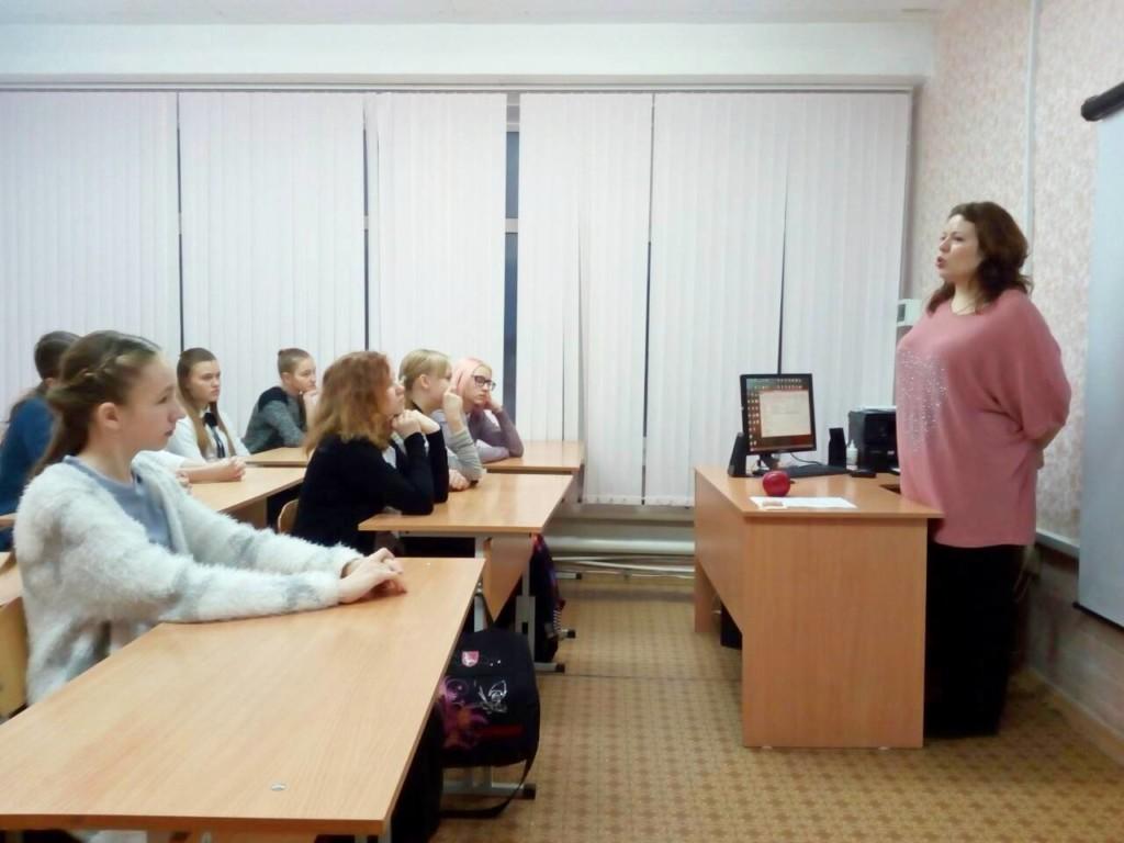 Руководитель Центра «Дар» Братчикова Т.В. и врач акушер-гинеколог Малетина А.А. провели беседы о целомудрии в 6-х и 7-х классах лицея №1 г. Шадринска.