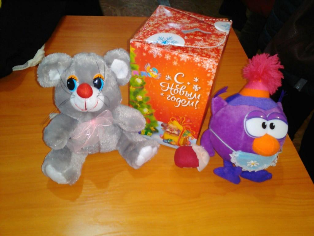 В Центре помощи материнству и детству «Дар» началась «Эстафета рождественских подарков».