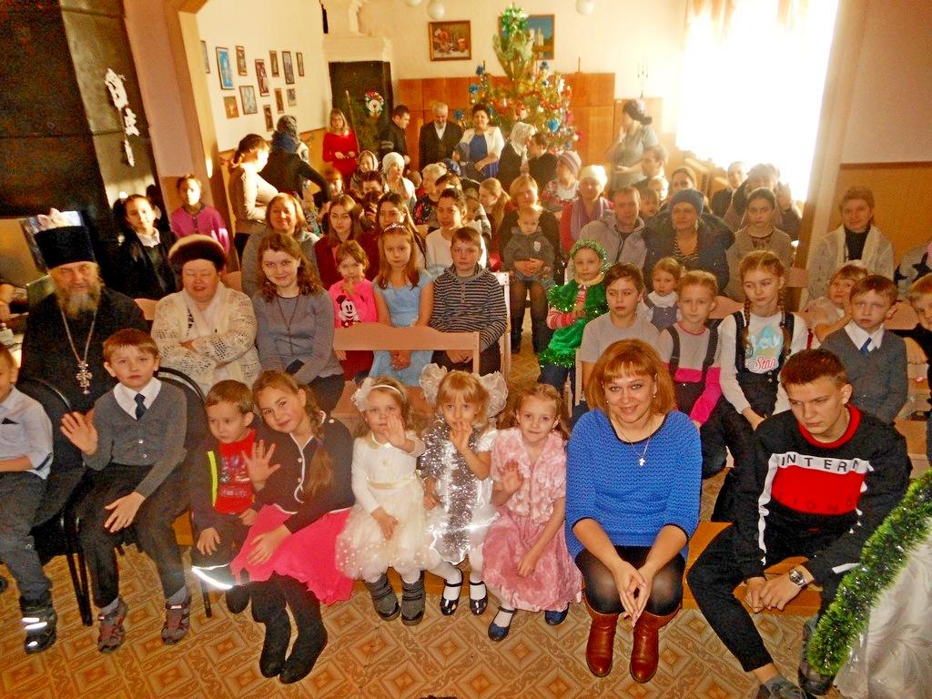 7 января 2018 года в воскресной школе при храме святых апостолов Петра и Павла города Куртамыш состоялся рождественский праздник