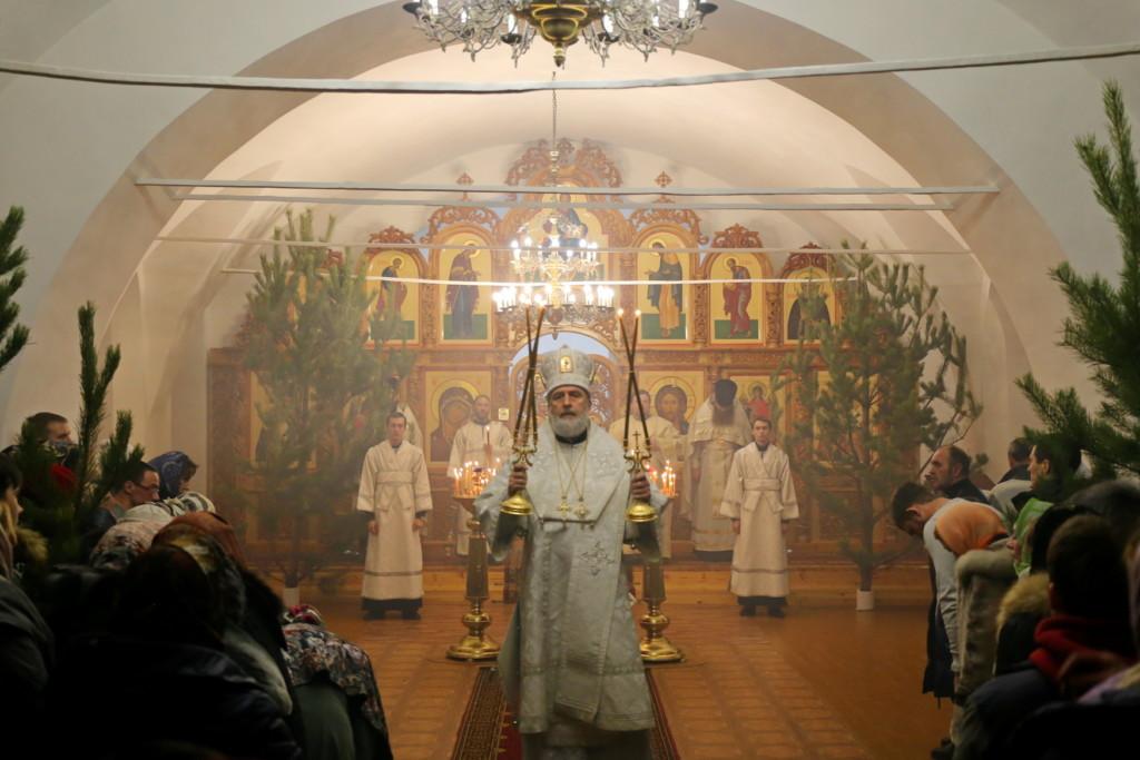 Рождество Христово. Божественная литургия. Шадринск. 07.01.2018г.
