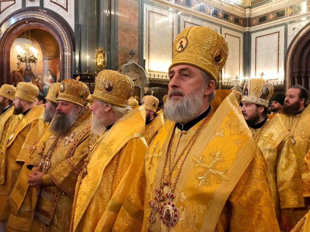 Епископ Шадринский и Далматовский Владимир принял участие в торжествах по случаю девятой годовщины интронизации Святейшего Патриарха Кирилла