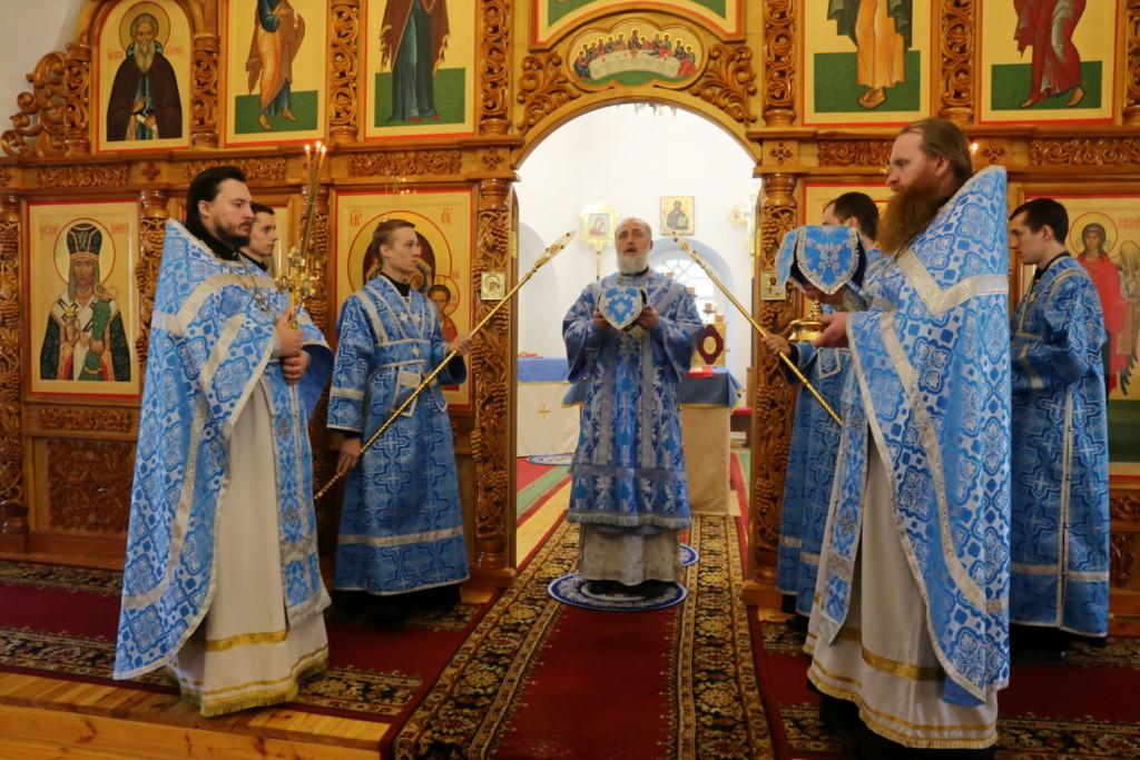 Божественная Литургия. Шадринск. 18.02.2018 г.