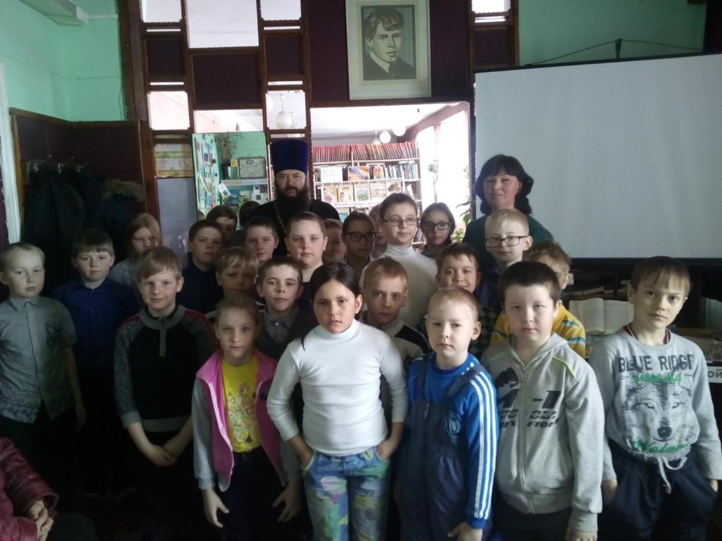 День Православной книги в с. Маслянское. 23.03.2018 г.
