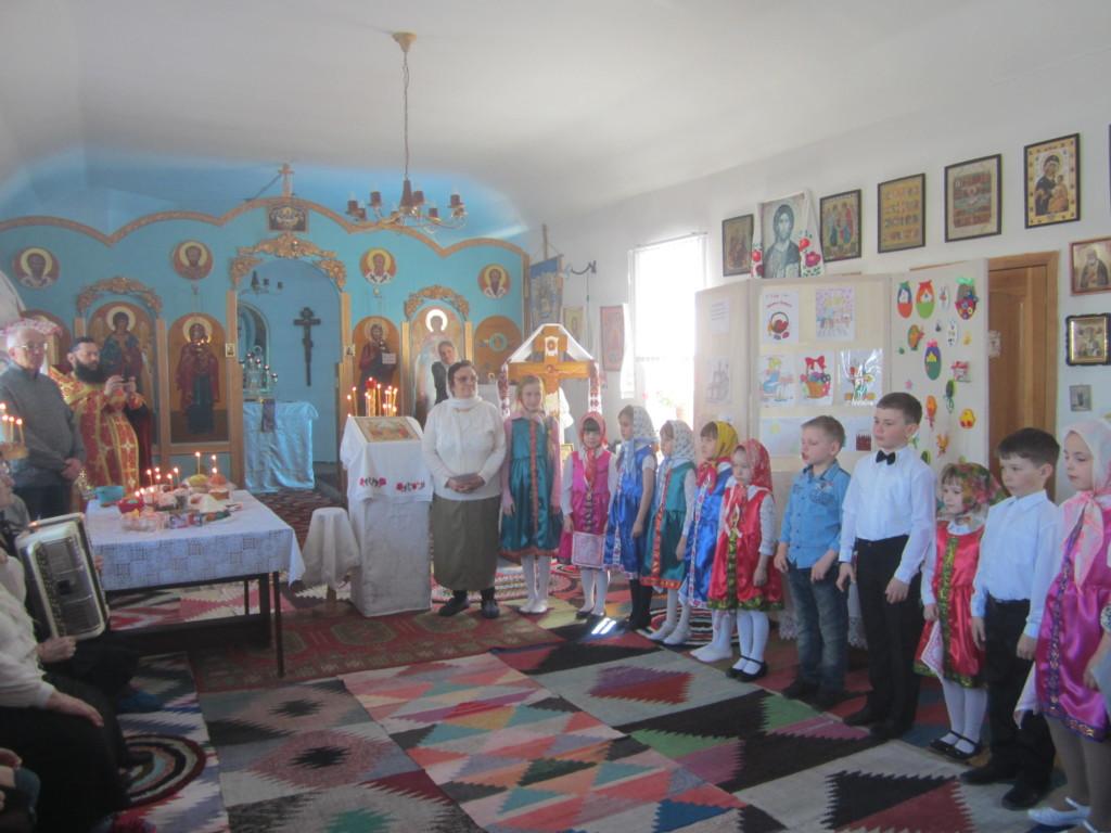 Пасхальный концерт в селе Красномыльское. 08.04.2018 г.