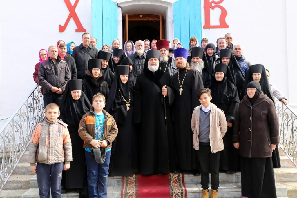Божественная литургия. Боровское. 14.04.2018 г.