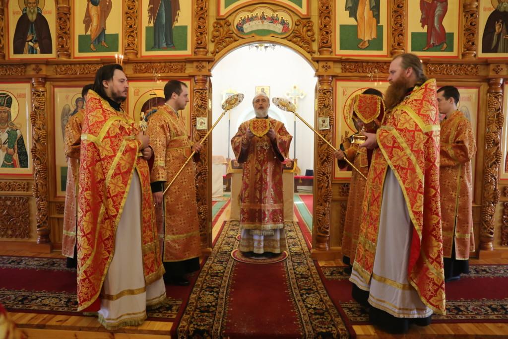 Божественная литургия. Шадринск. 22.04.2018 г.