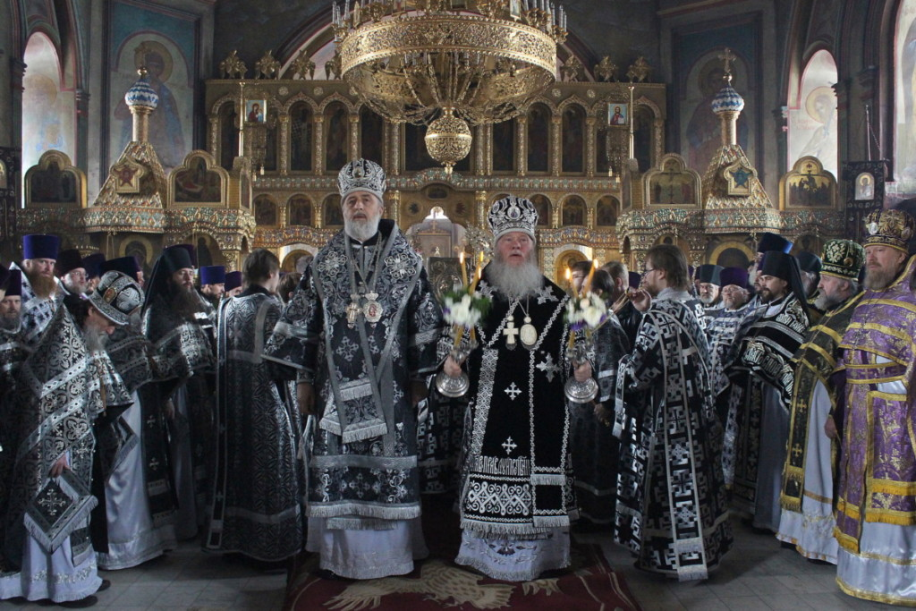 Божественная литургия. Курган. 02.04.2018 г.