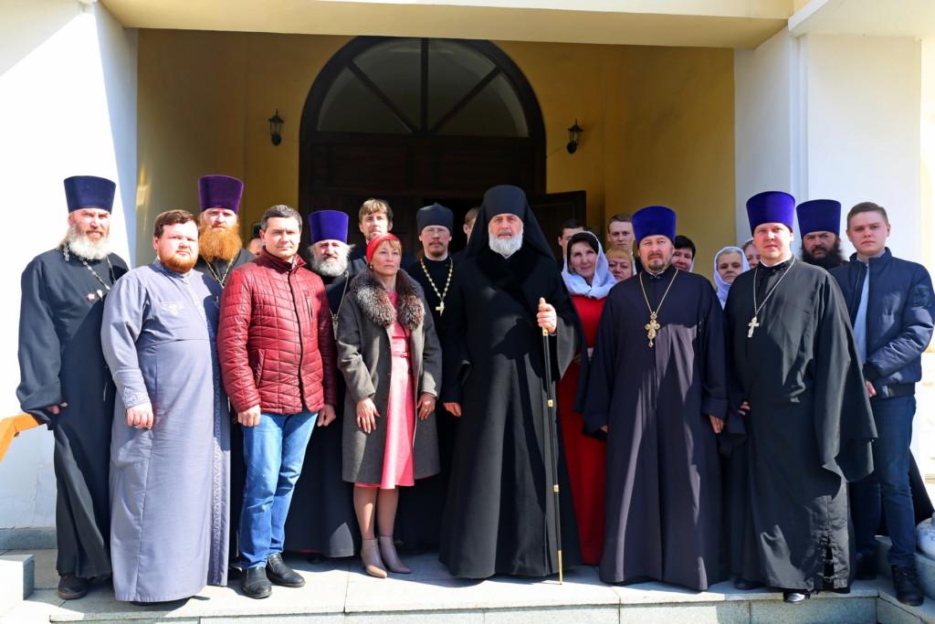 Божественная литургия. Шадринск. 09.04.2018 г.
