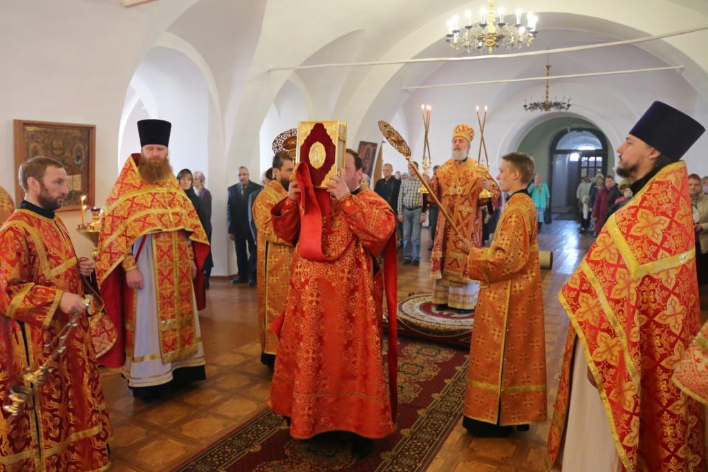 Божественная литургия. Шадринск. 13.05.2018 г.
