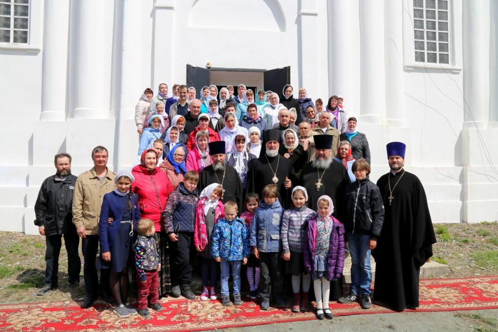 Божественная литургия. Костылёво. 17.05.2018 г.