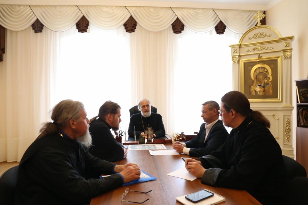 Глава Шадринской епархии епископ Шадринский и Далматовский Владимир встретился с Главой Администрации Катайского района