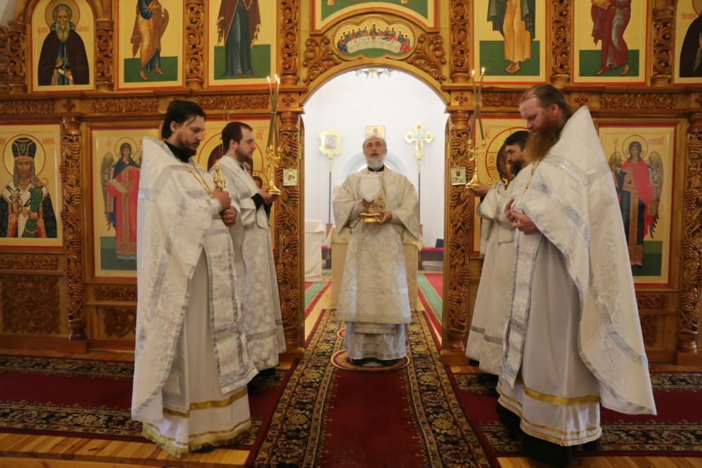Божественная литургия. Шадринск. 21.05.2018 г.