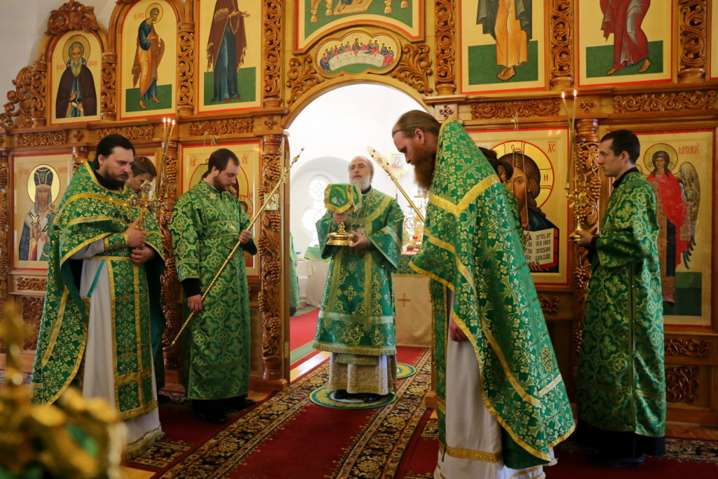 Божественная литургия. Шадринск. 27.05.2018 г.