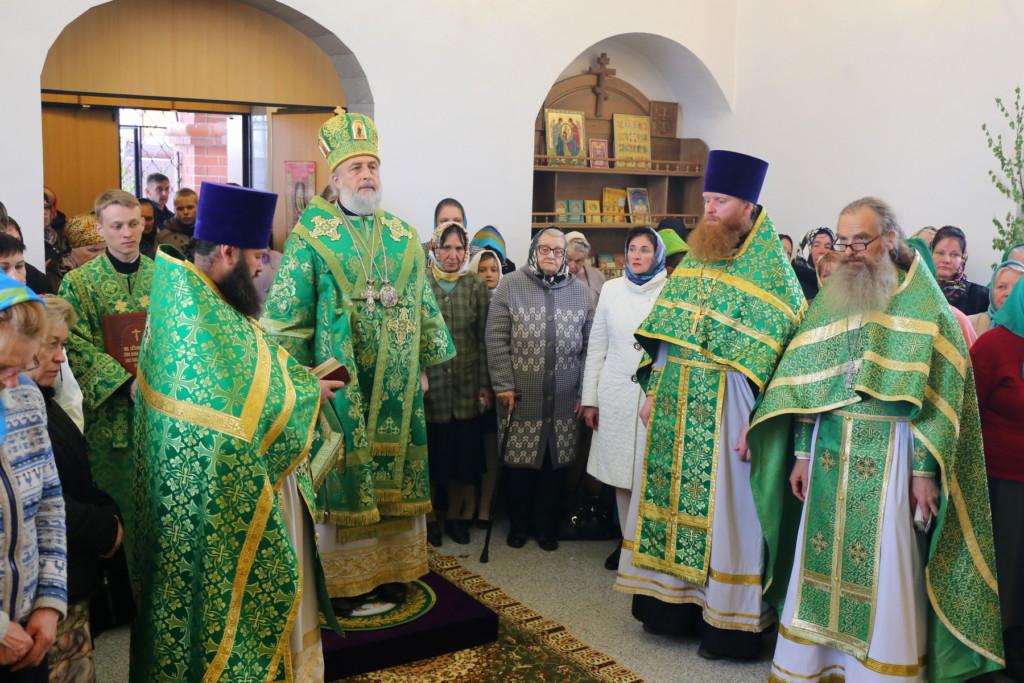Божественная литургия. Песчанотаволжанское. 28.05.2018 г.