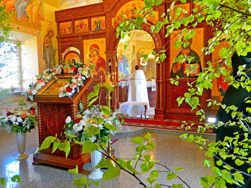 В День Святой Троицы, Пятидесятницы, Троицкий храм села Верхняя Теча впервые отмечает свой главный престольный праздник. 27.05.2018 г.