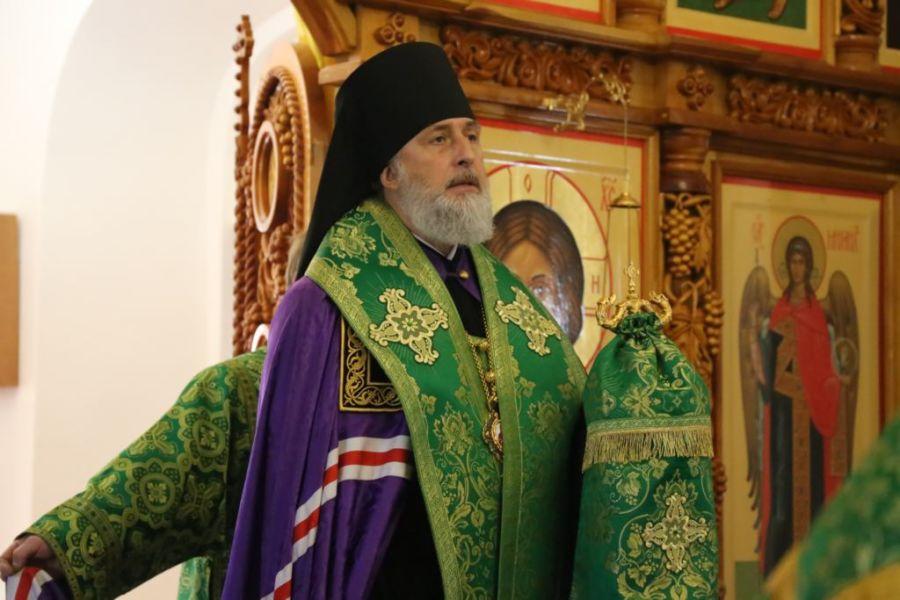 Епископ Шадринский и Далматовский Владимир совершил молебен в  день памяти святого праведного Павла Таганрогского 20.06.2018 г.