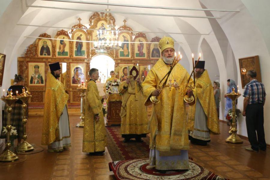 Божественная литургия. Шадринск 29.07.2018 г.