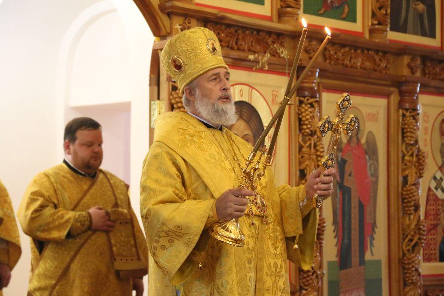 Божественная литургия. Шадринск 01.07.2018 г.