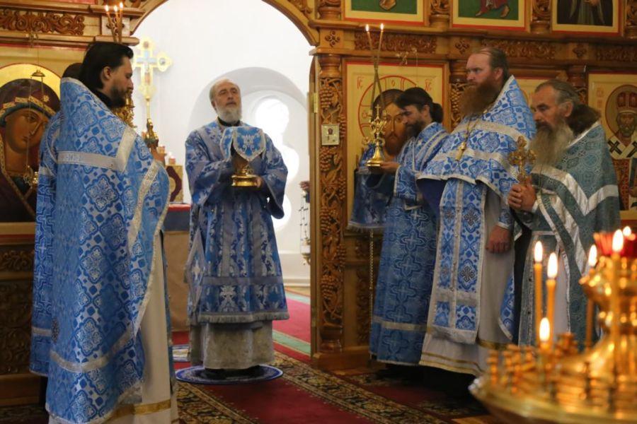 Божественная литургия. Шадринск 09.07.2018 г.