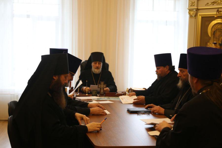 Глава Шадринской епархии епископ Шадринский и Далматовский Владимир возглавил расширенный Епархиальный совет 05.11.2018г.